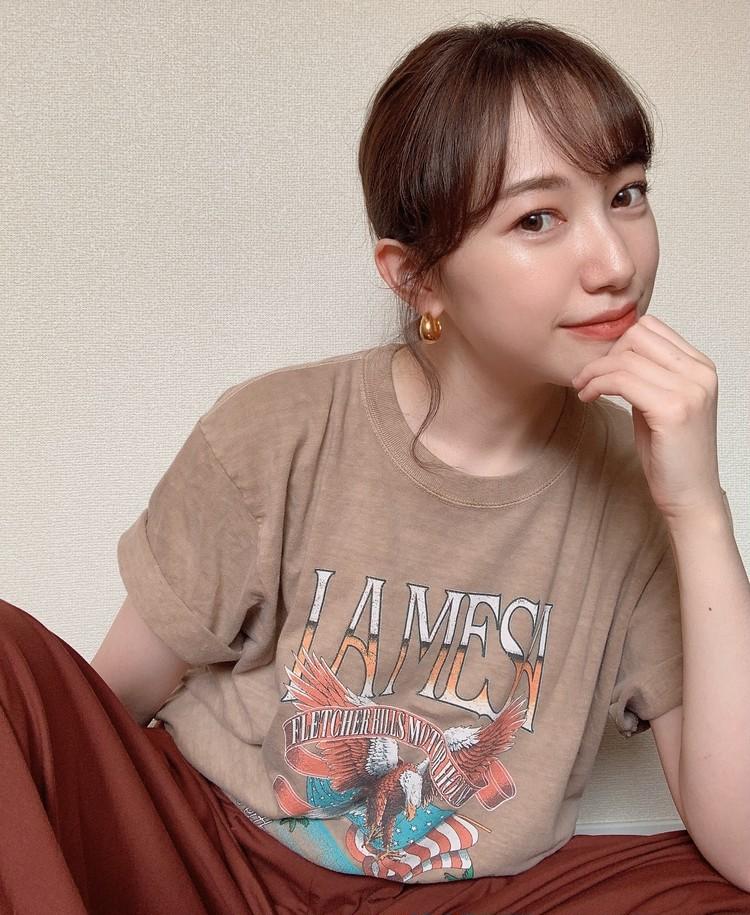 ロックTシャツを女っぽく着るアイディア!〜Part1〜_3