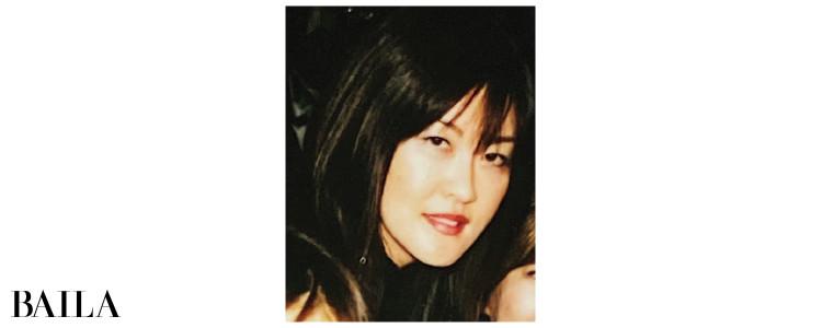 安倍佐和子さん38歳の頃