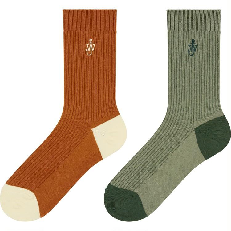 【ユニクロ(UNIQLO)× JW アンダーソンのクリスマスコラボ】ヒートテック使用あったかニット小物がそろう初のホリデーコレクション ソックス 靴下