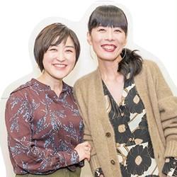(左)スタイリスト 室井由美子さん(右)カラープロデューサー 今井志保子さん