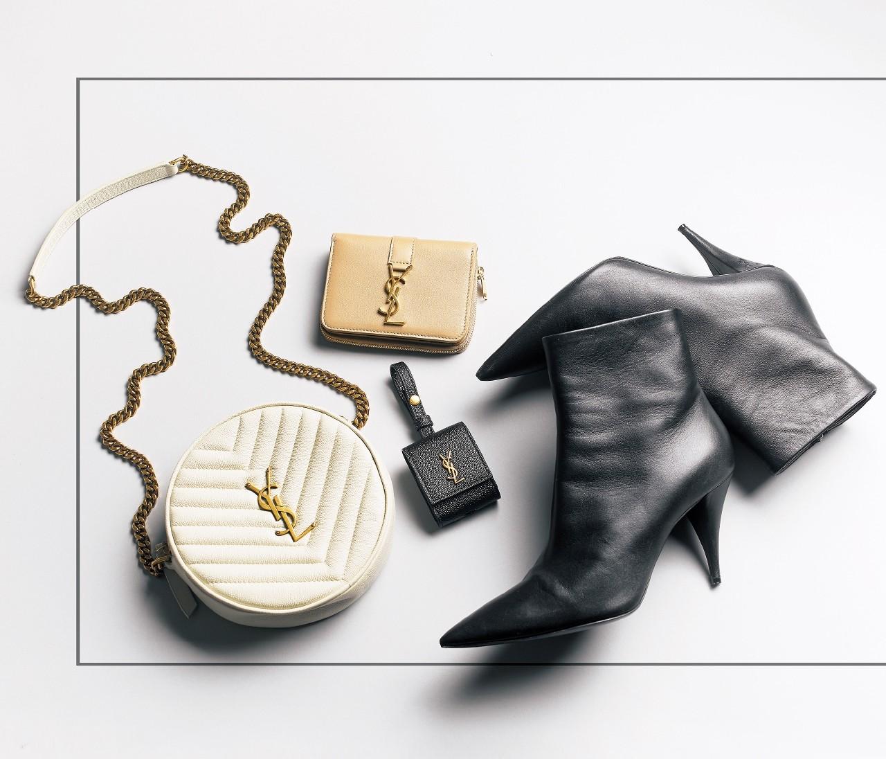【クリスマスギフト】「SAINT LAURENT(サンローラン)」のモード&シックな財布やバッグ