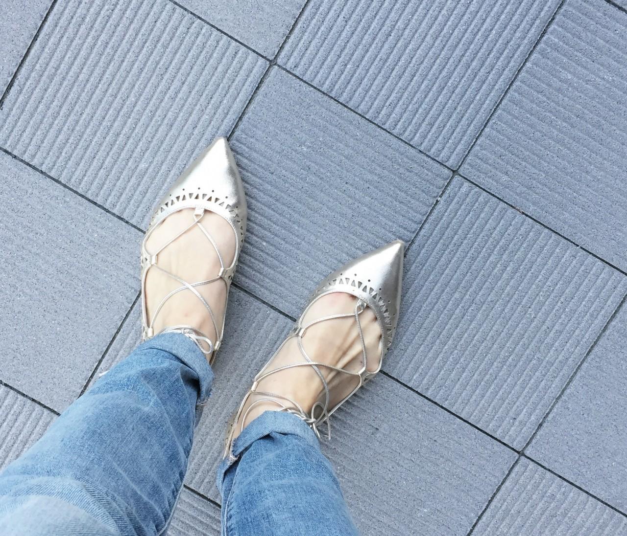 【休日コーデ】靴好きさんに薦めたい♡! カルツァイウォーリフィオレンティーニのレースアップシューズ