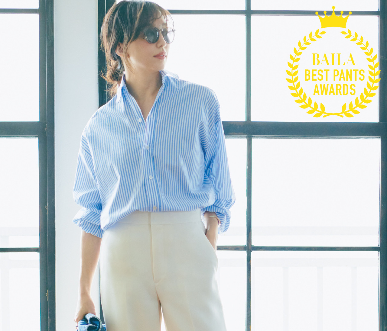 【2021年働く30代のパンツ大賞】楽して女っぽい、「美シルエットワイドパンツ大賞」はこの3本!