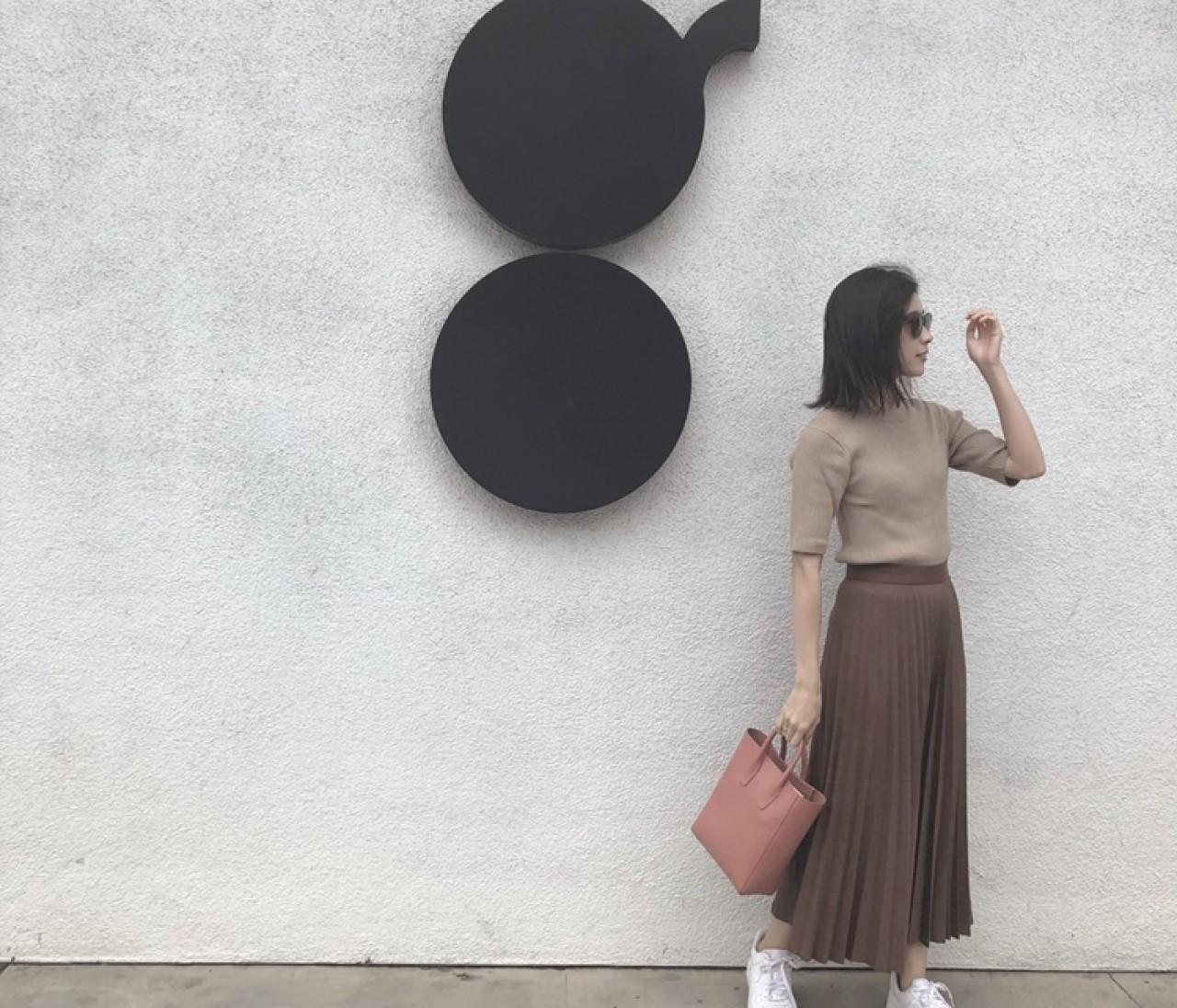 【BAILA10月号】ZARAでブラウンワントーン+ベイクドカラーコーデ♡