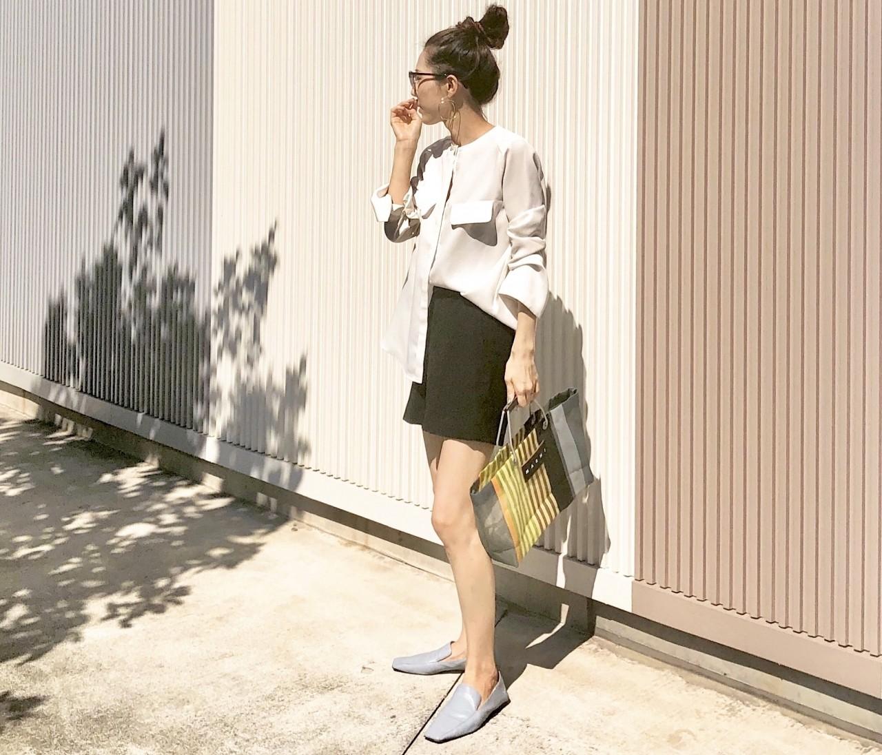 【ZARAコーデ】30代でも履ける大人のショートパンツ