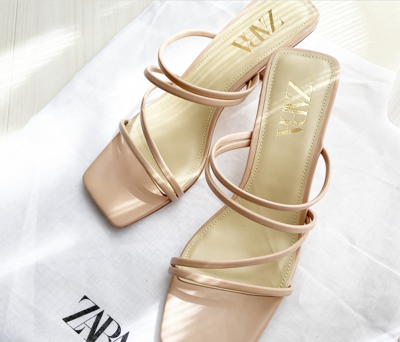 【ZARA購入品】春に向けてピンクサンダルを新調