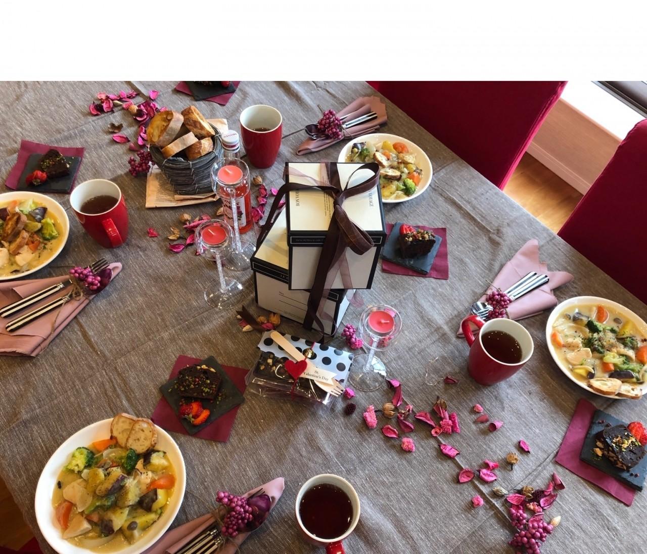 きれいとおいしいは作れる♡4step cooking lessonバレンタインメニューに参加してきました。