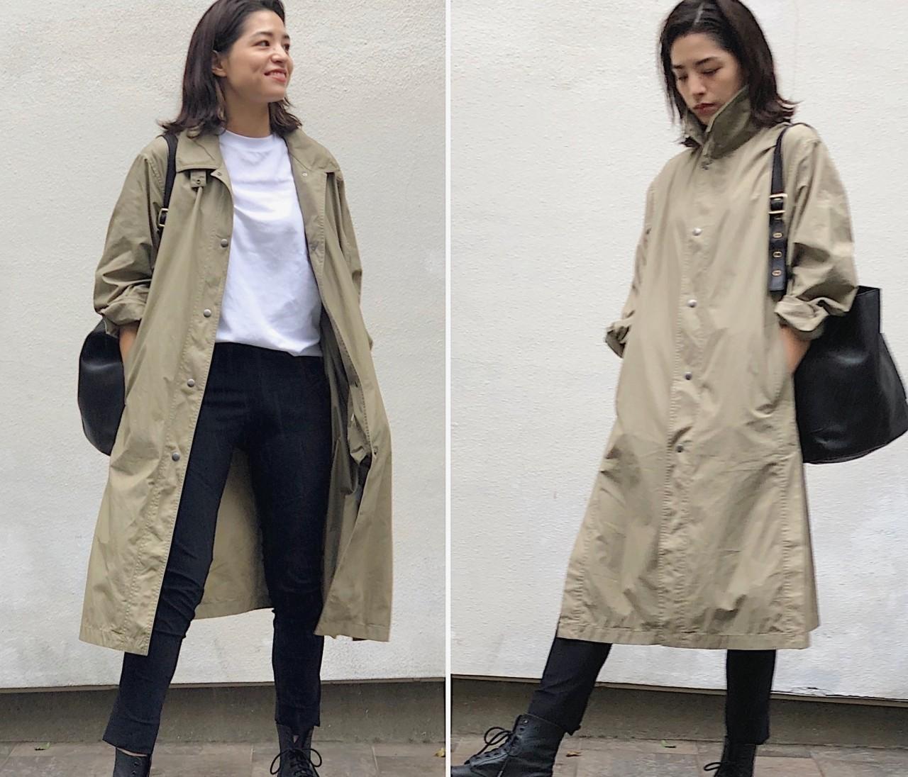 再販で入手!【UNIQLO U】春に即完売した薄軽コート(¥7990)