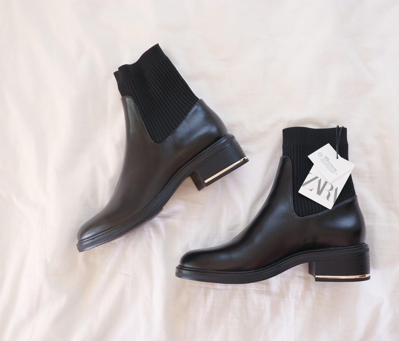 【ZARA】今季のブーツが可愛すぎる!