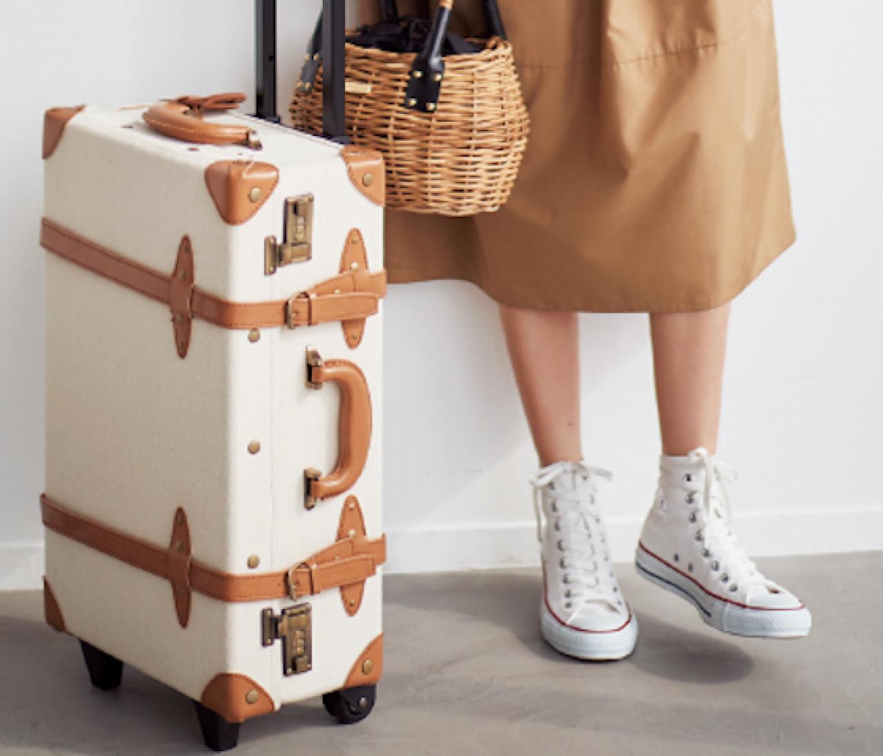 5泊6日の国内旅★ 【回るスーツケース】で着回し力を鍛える!
