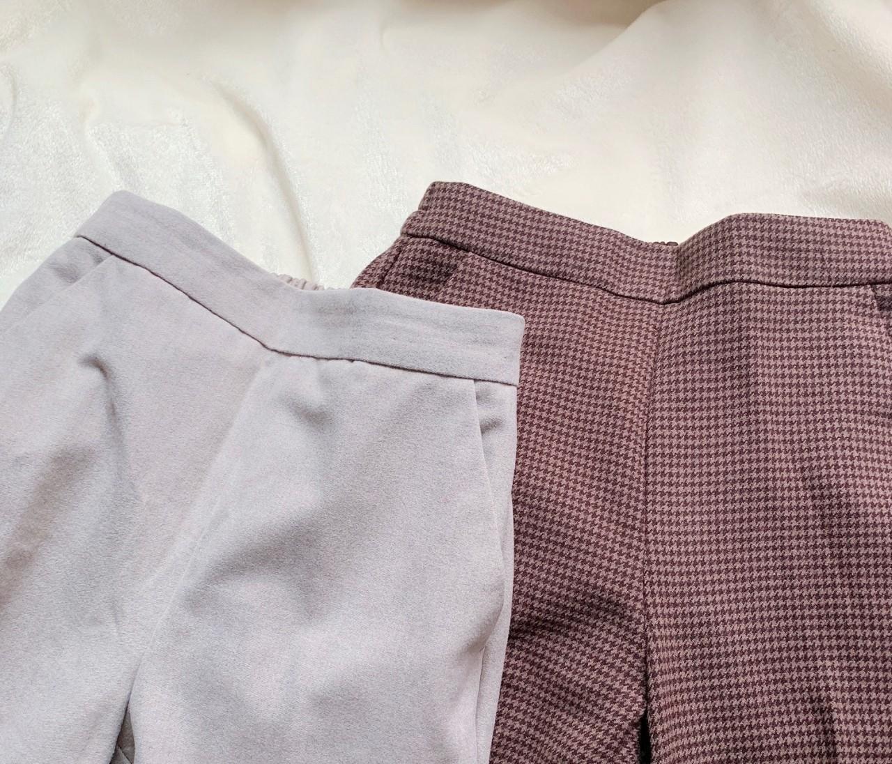 【GU】起毛パンツ2色買い♡