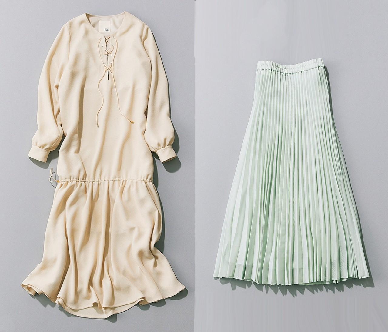 【春スカート&ワンピースカタログ】女っぽい美シルエットが続々!