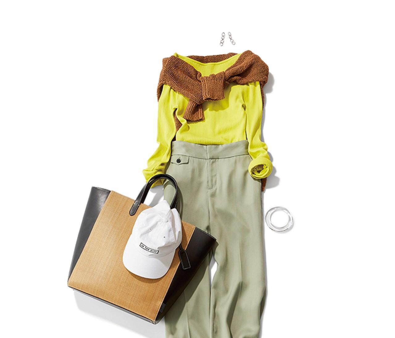女子会がある日は、今っぽいグリーンonグリーンスタイルを♡【2019/6/6のコーデ】