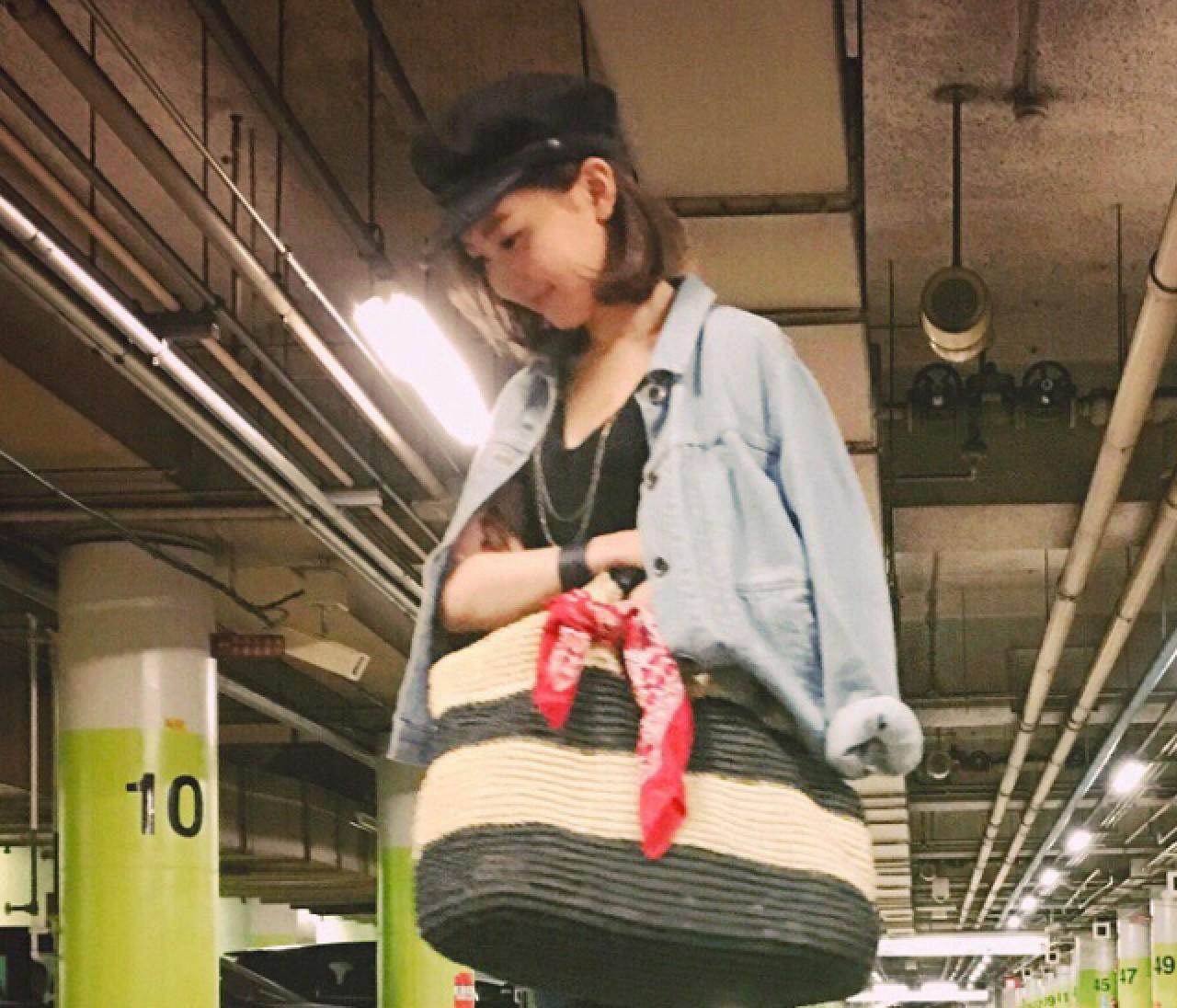 【スーパーバイラーズの #女っポイントデニム #OOTD】3/14(月)・木本 静さん