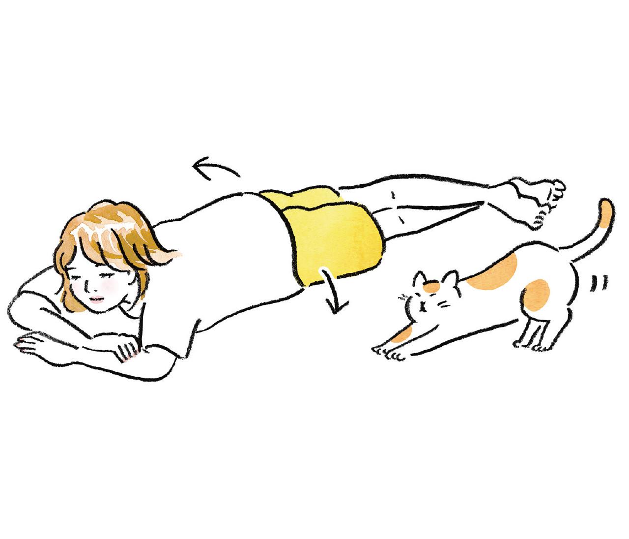 【デブ腸からやせ腸になる方法1】横向きよりうつ伏せ、筋トレよりウォーキング...今日から変えられる生活習慣4選!