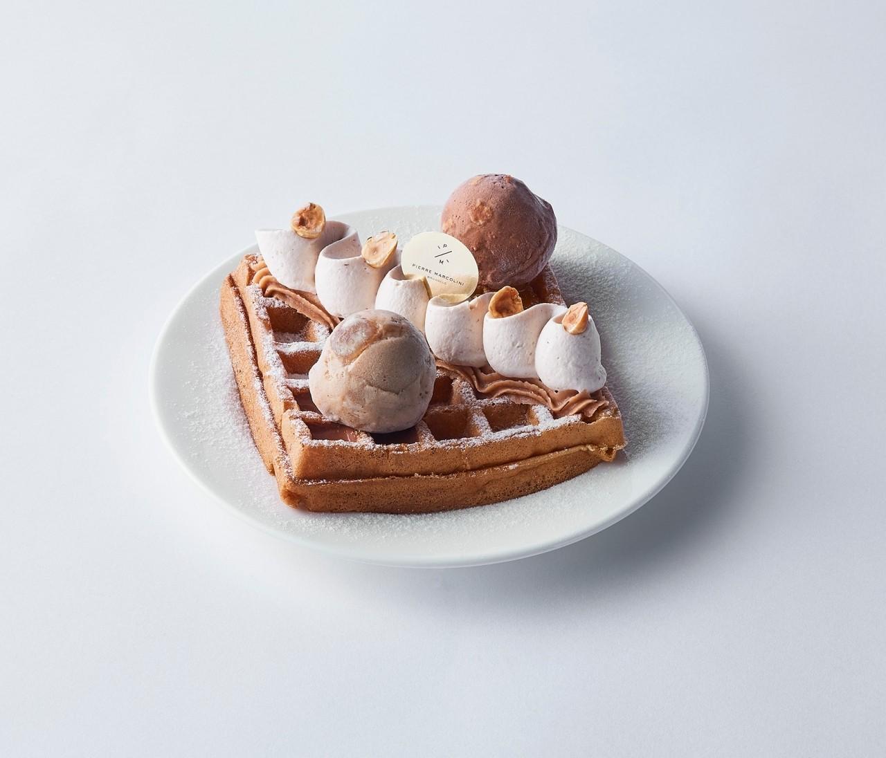 「ピエール マルコリーニ」で秋限定のカフェメニューがスタート!日本初のジャンドゥーヤアイスクリームを使ったスイーツも