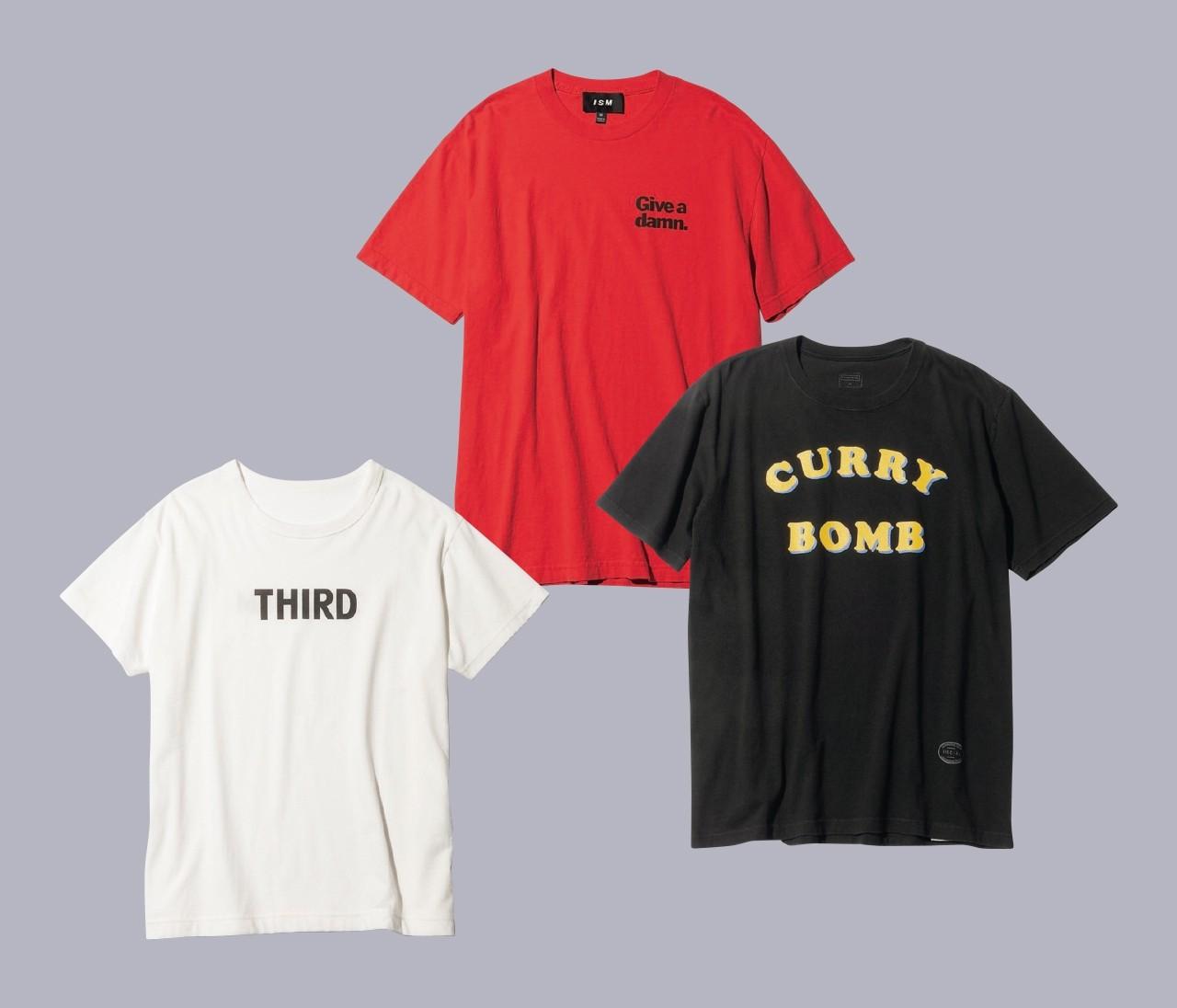 【辻直子さん夏のTシャツ】ロゴTは小物で女らしさを添えて