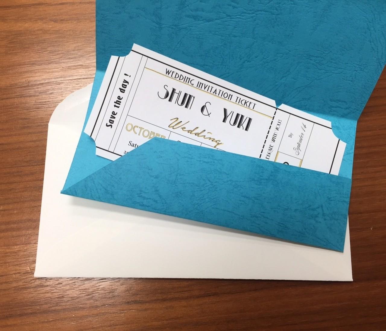 【プレ花DIY】BAILA7月号別冊付録「婚BAILA」に掲載中の招待状を作ってみた!