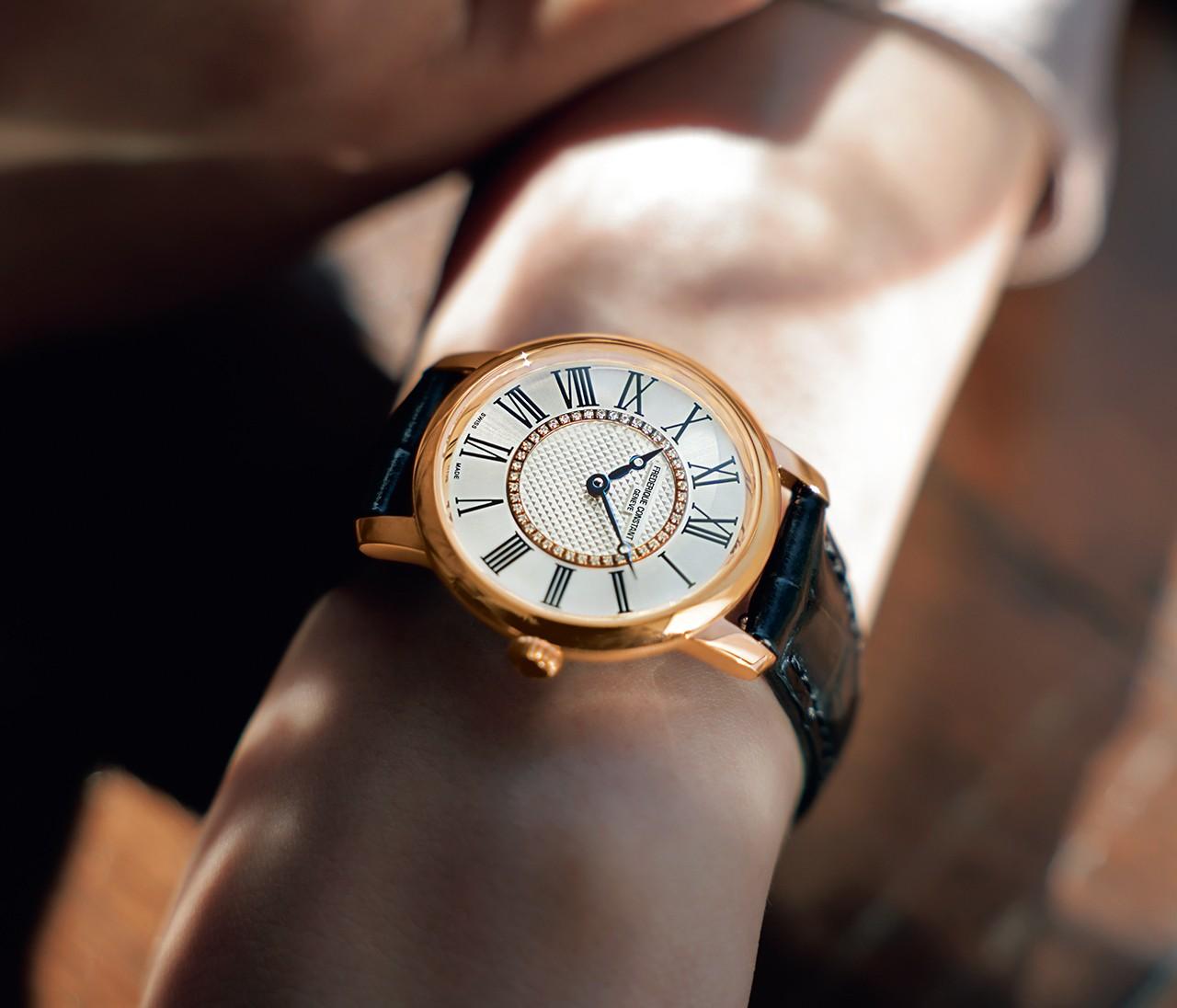 オールマイティな魅力、フレデリック・コンスタントの上質時計