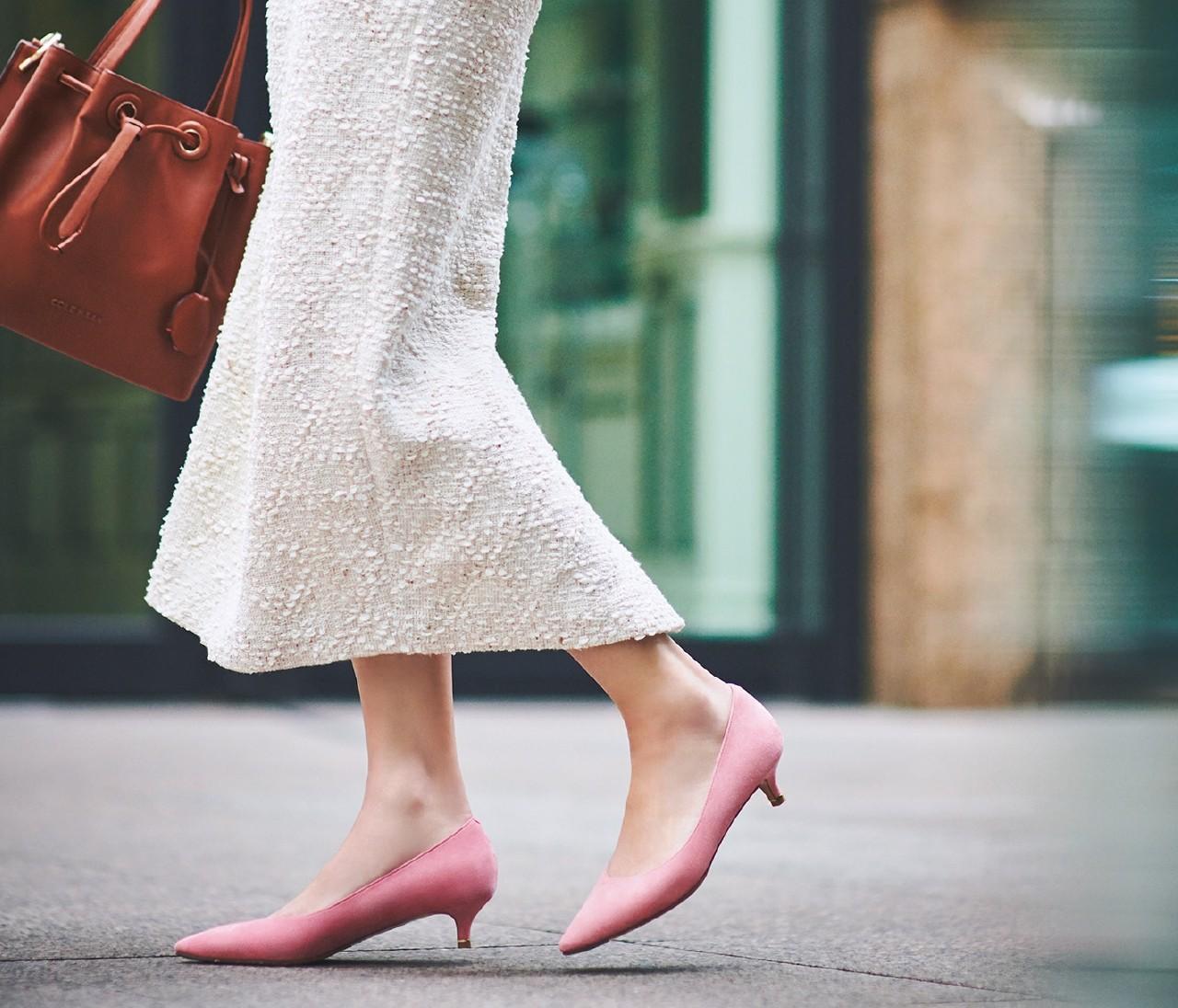 【2020春パンプス】「銀座かねまつ」の4cmヒールは現代女性のための1足!