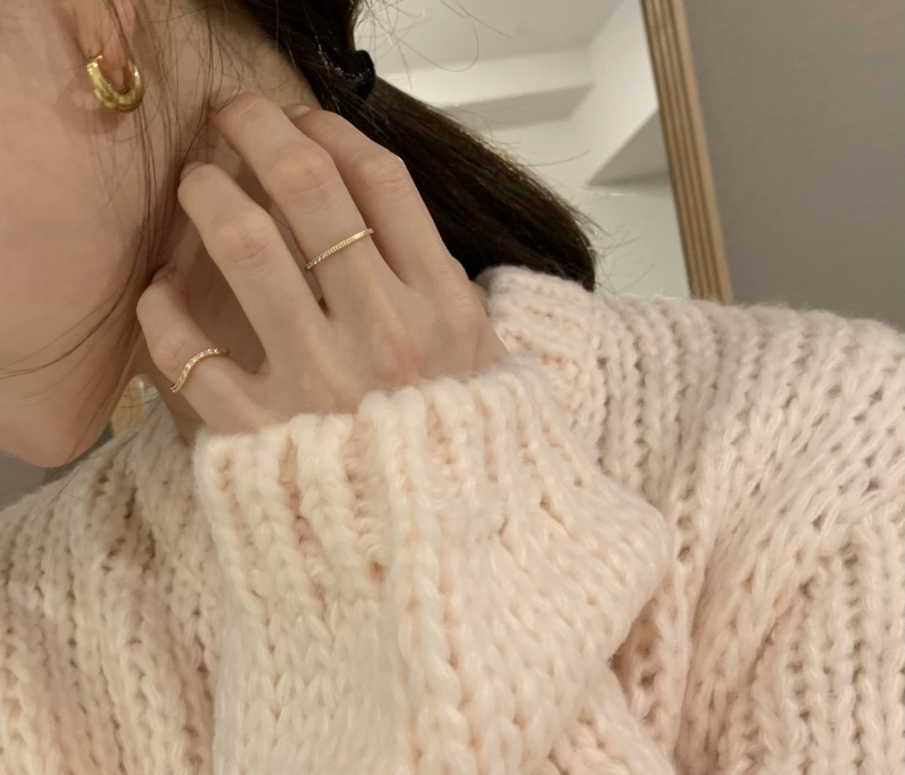 【最近の購入品】今使える羽織りとゴールドアクセが可愛い♡