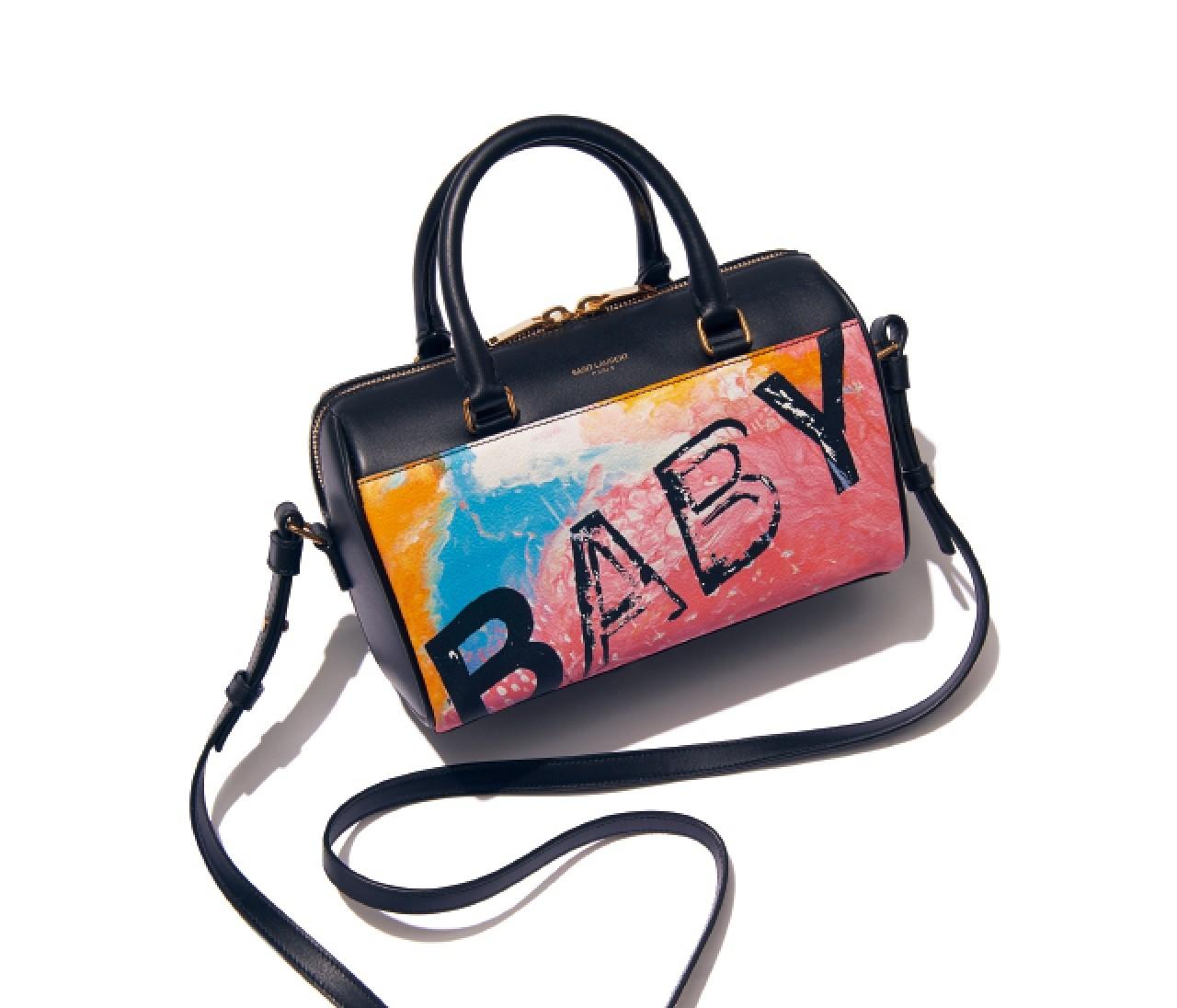サンローランの超人気バッグ「ベイビーダッフル」新作がアートみたい!