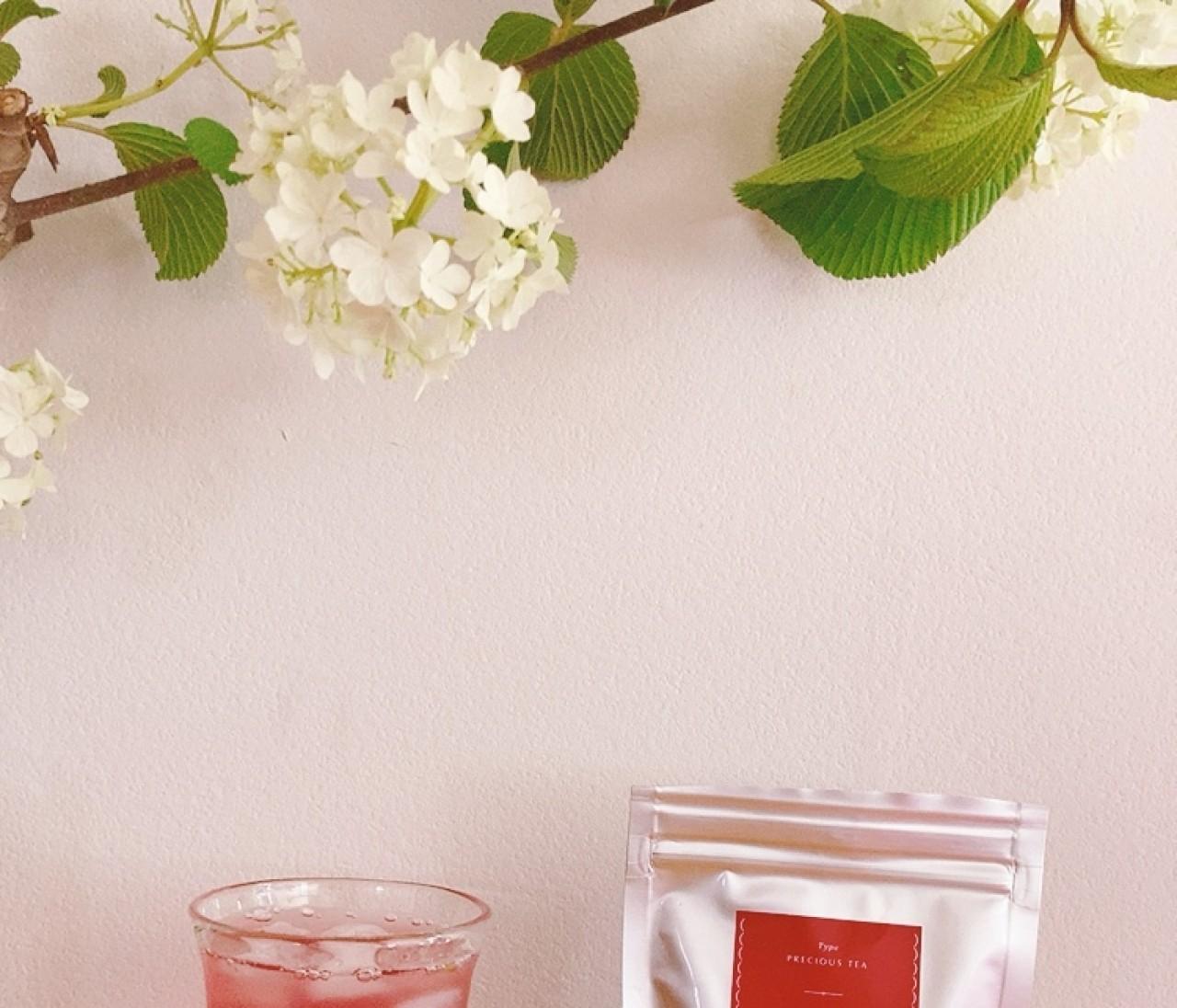 疲れと夏バテ防止に。鮮やかな冷茶で気分リフレッシュ!