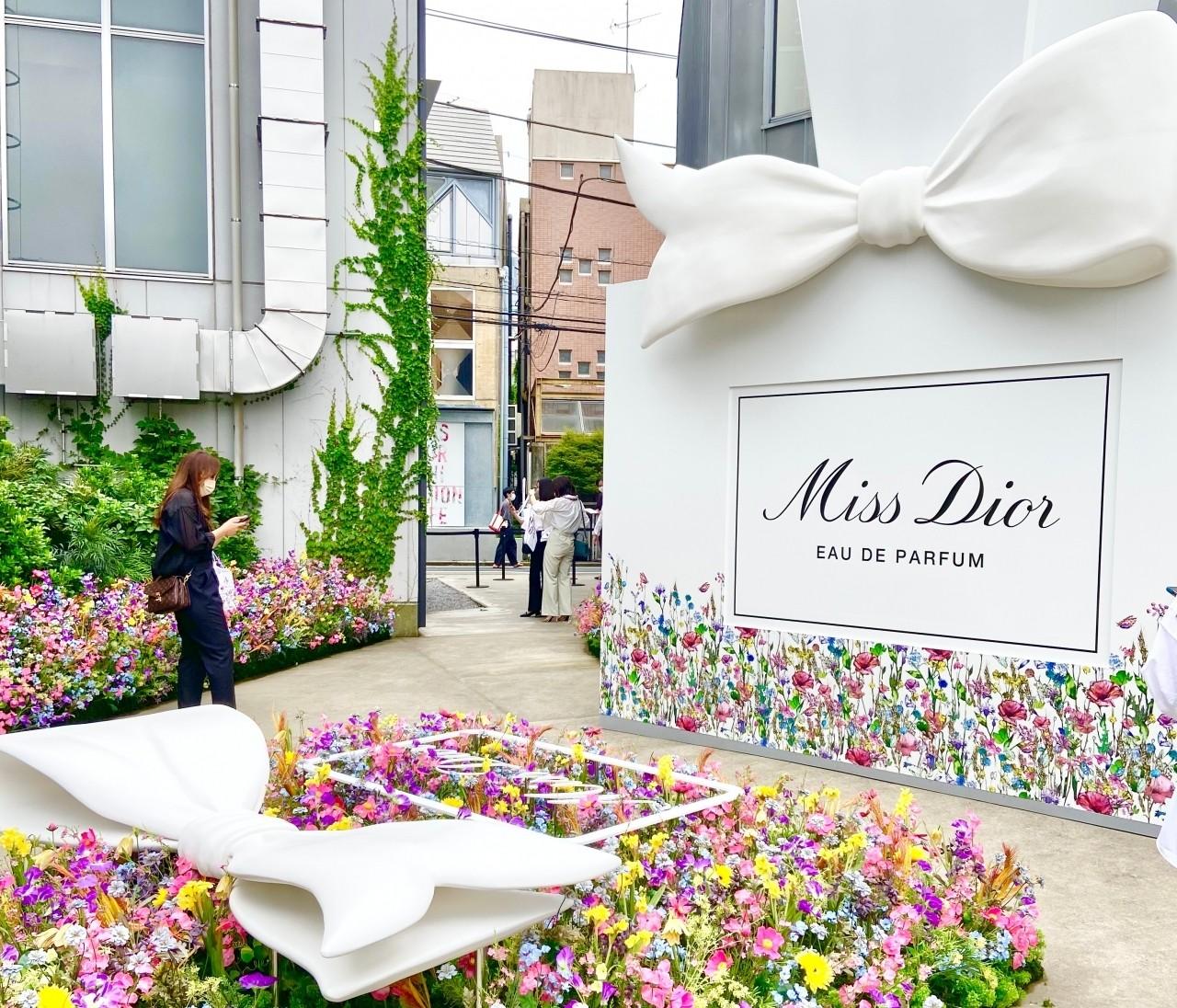 ミスディオール・アートイベント【Miss Dior EXHIBITION】に行ってきました!