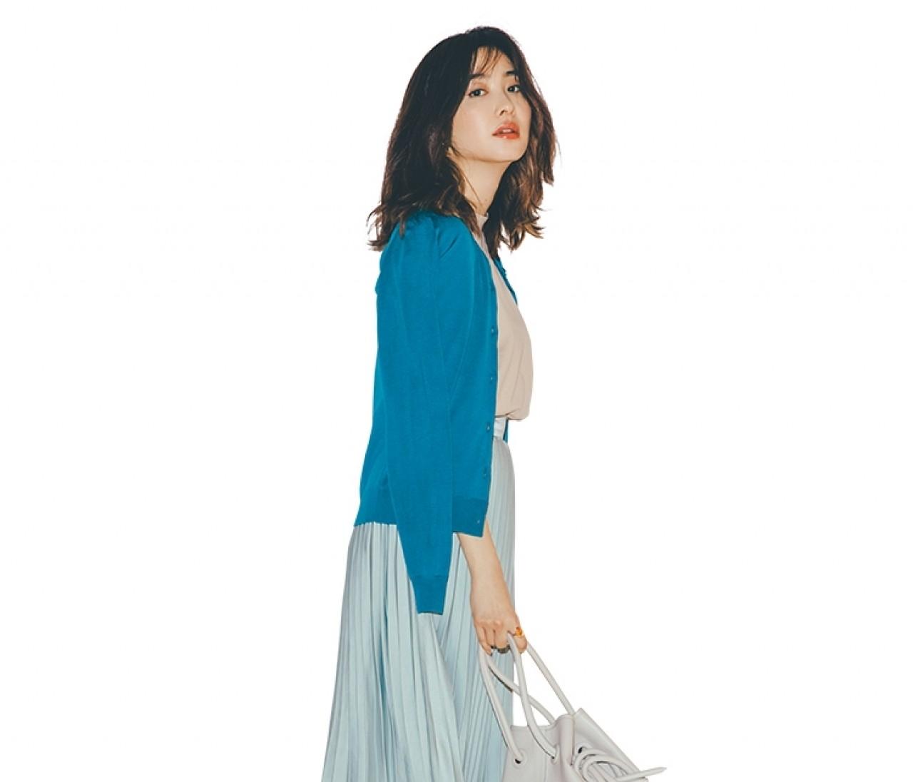 彼とご飯を食べる休日は、揺れスカートの清涼感スタイル♡【2019/8/31のコーデ】