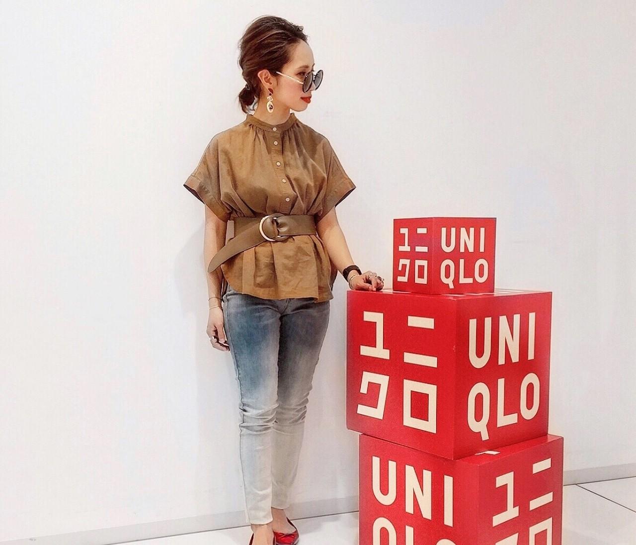 #ユニシャツ 似合うシャツを求めてユニクロのシャツ展示会へ♩
