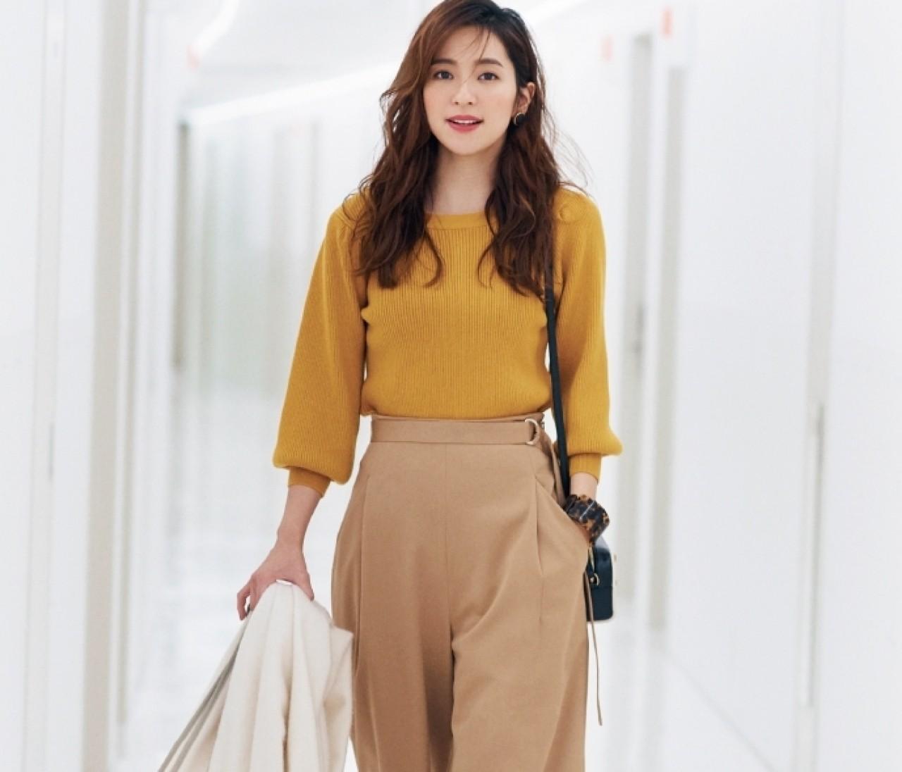 【冬の着やせ配色ルール】「なかよし配色」でなじませてすっきり見え!