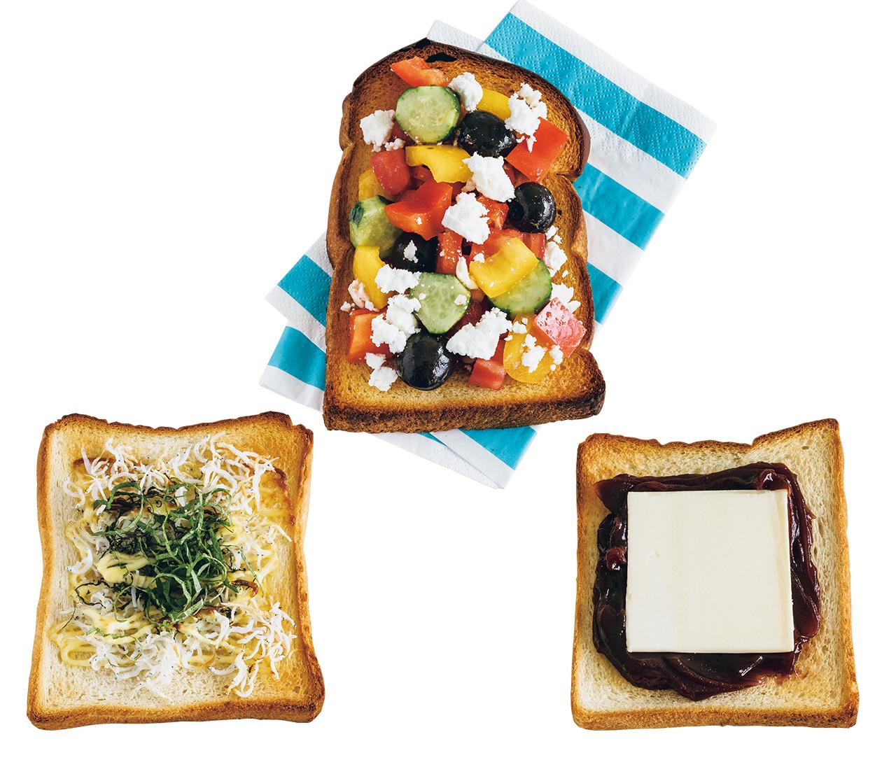 普通の食パンがおしゃれに美味しく変身!ヘア&メイク中野明海さんetc.センス抜群の3人の食パンアレンジ【あの人がパンにのせているもの2】