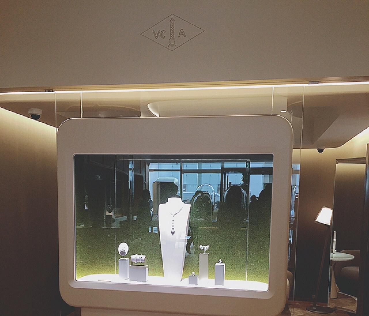 新オープン☆ヴァンクリーフ&アーペル銀座本店に行ってきました!