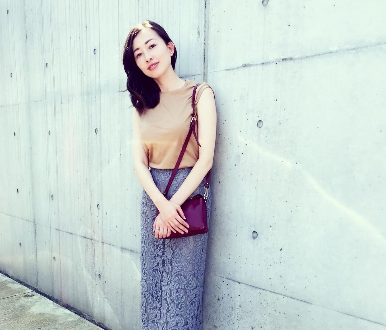 着まわし☆ウィムガゼットのロングタイトスカート
