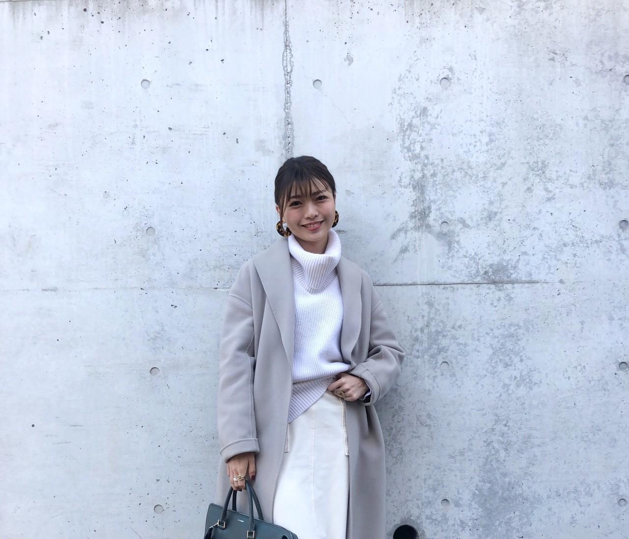BAILA12月号【最愛コートのベストコーデ】