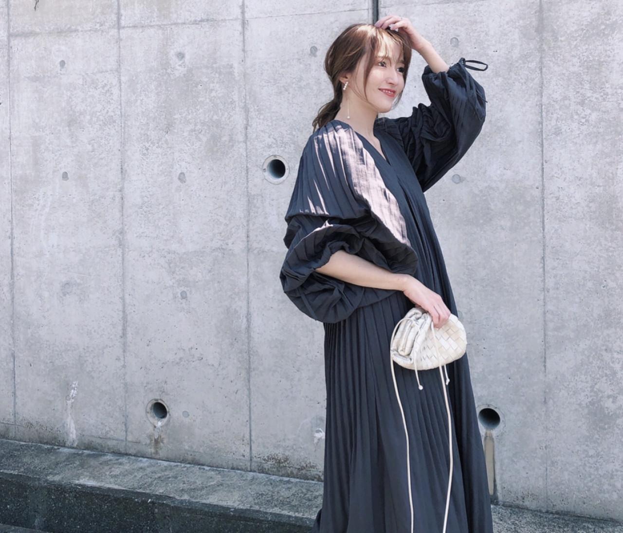 【BAILA 5月号】モノトーンワンピース♡