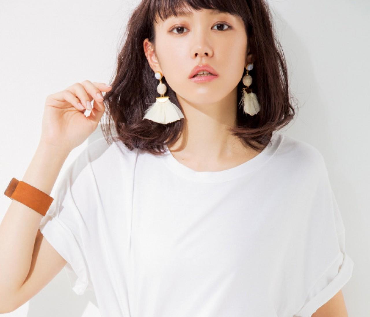 桐谷美玲がナビゲート♪ 美女感アップの【夏小物】7選