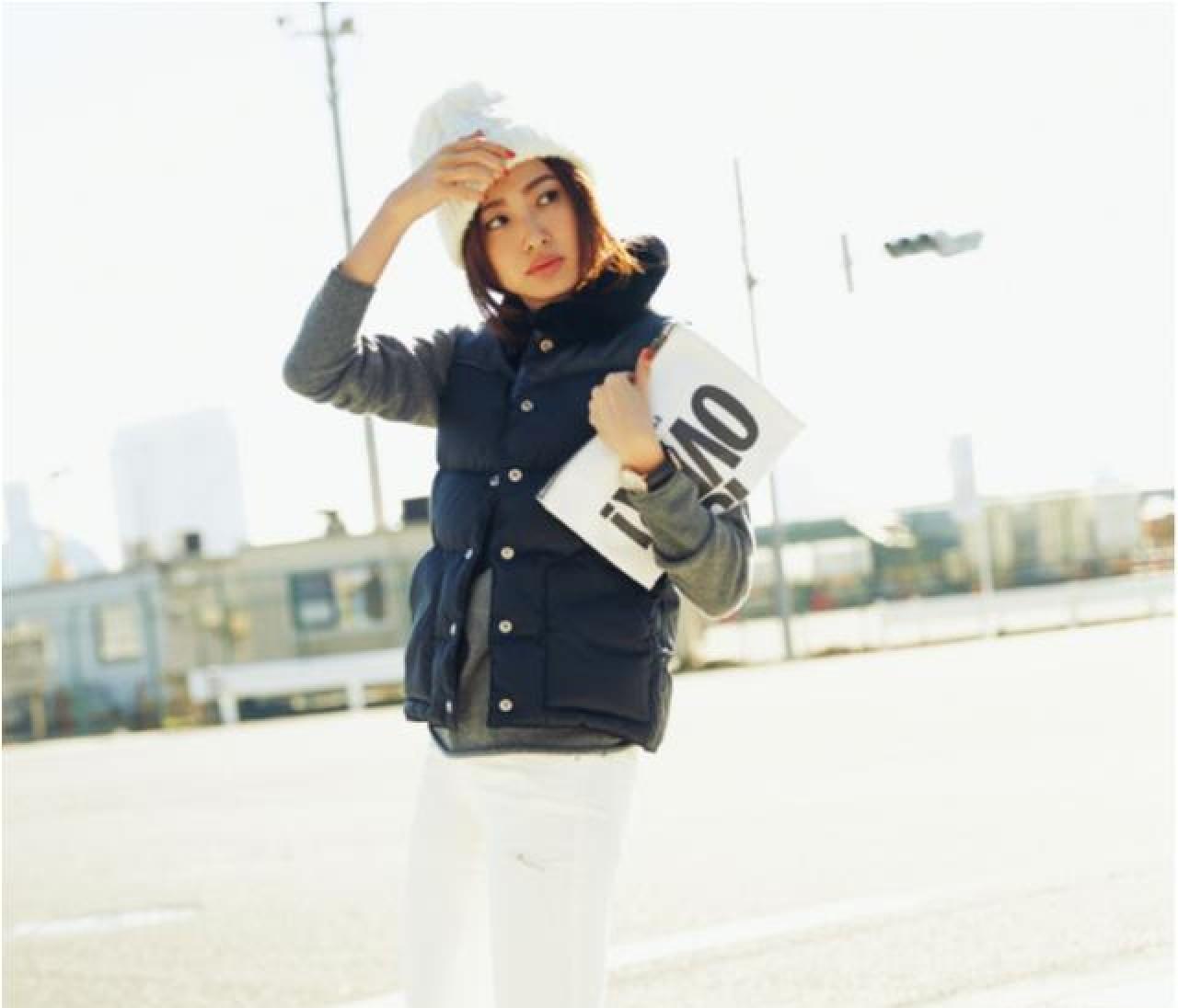 「真冬の白」でいきなり美人見え!