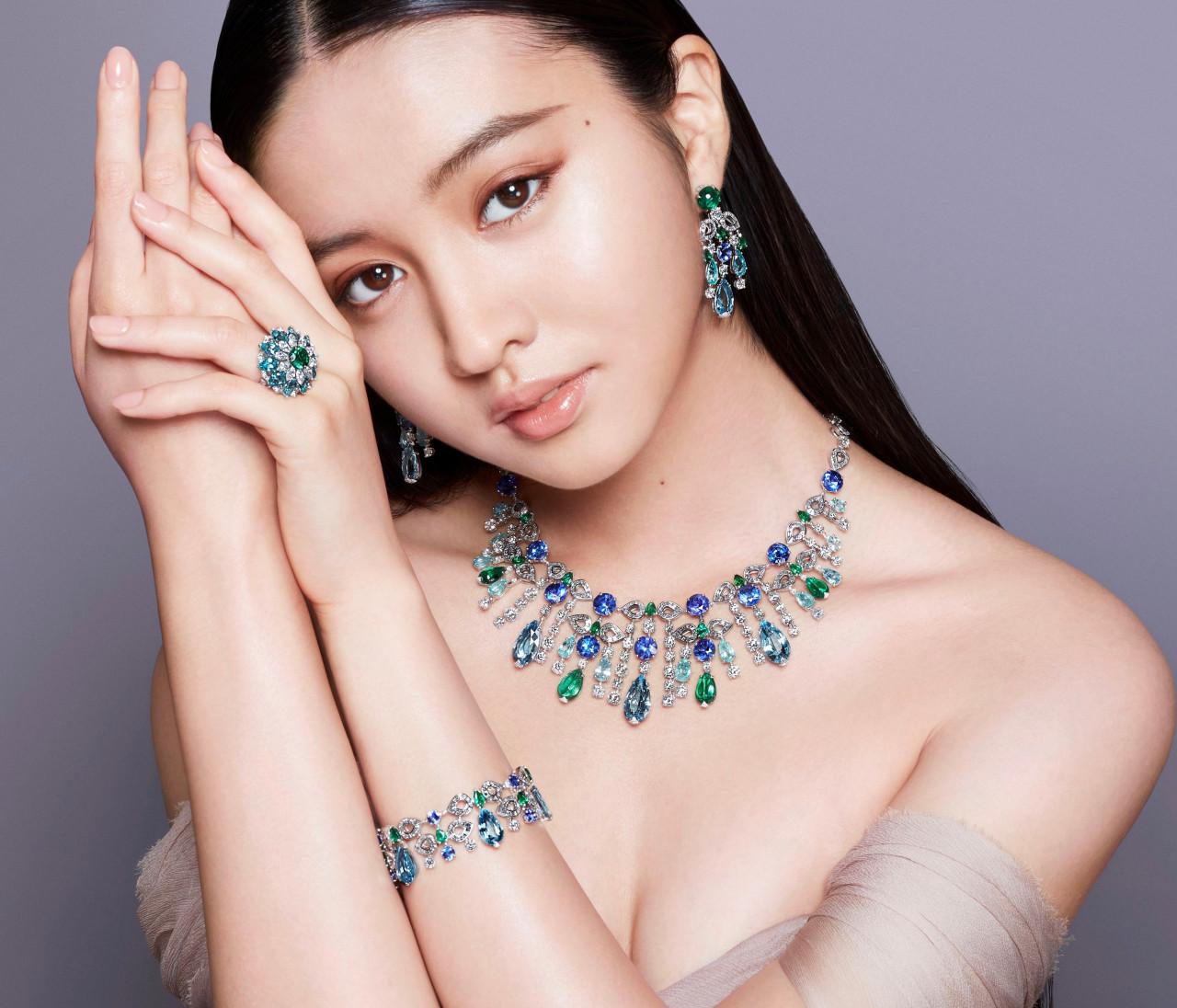 【Kōki,さん×「ブルガリ」のハイジュエリー】イットモデルとジェムストーンの圧倒的な美しさを堪能!