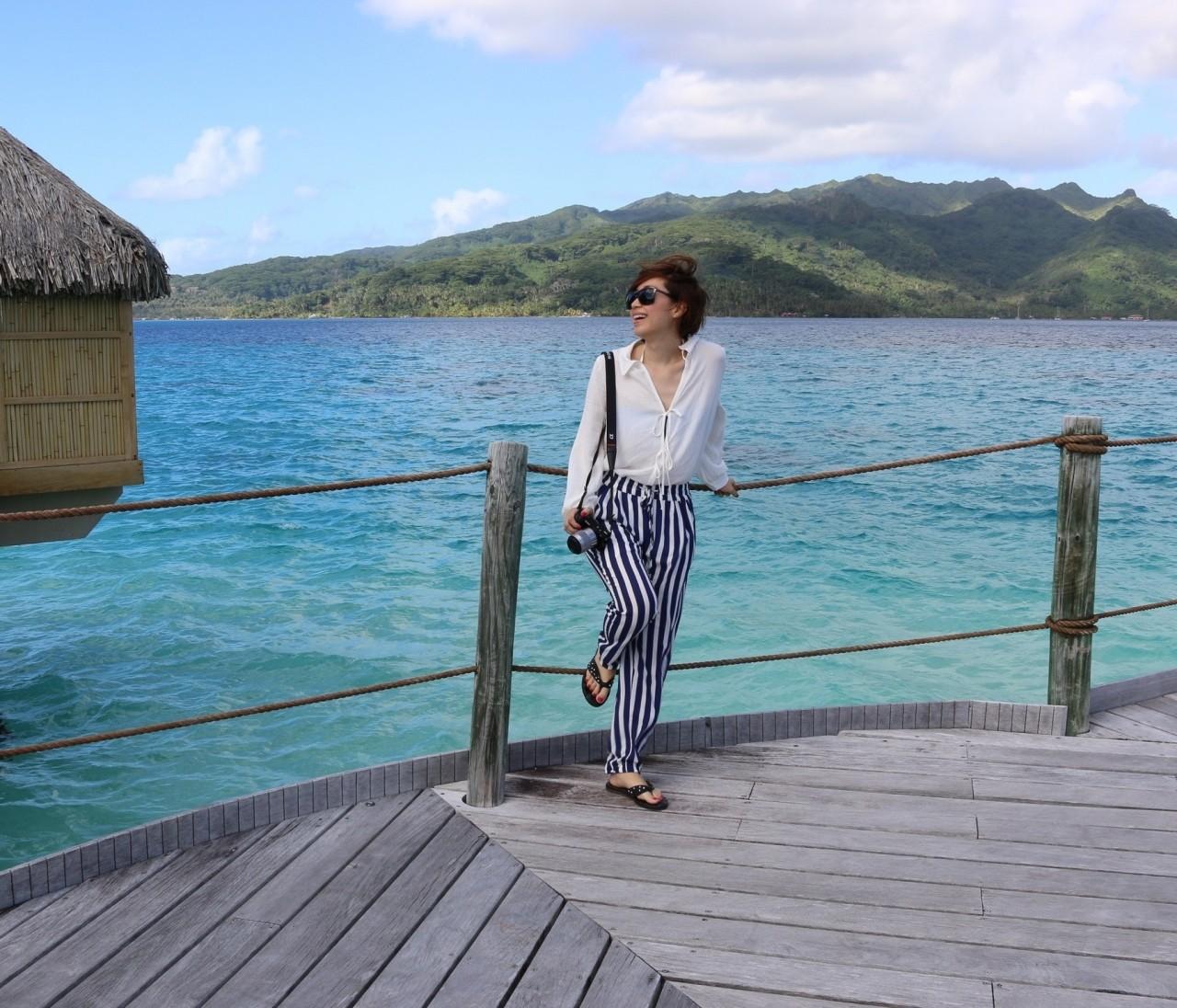 Resort Fashion in Tahiti