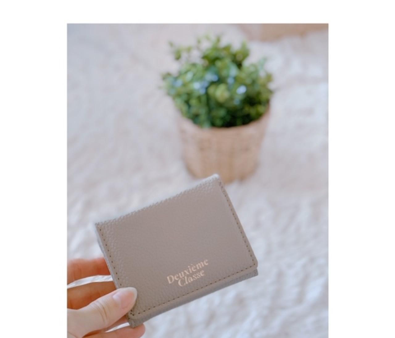 【付録】BAILA4月号▶ドゥーズィエム クラス上品ミニ財布