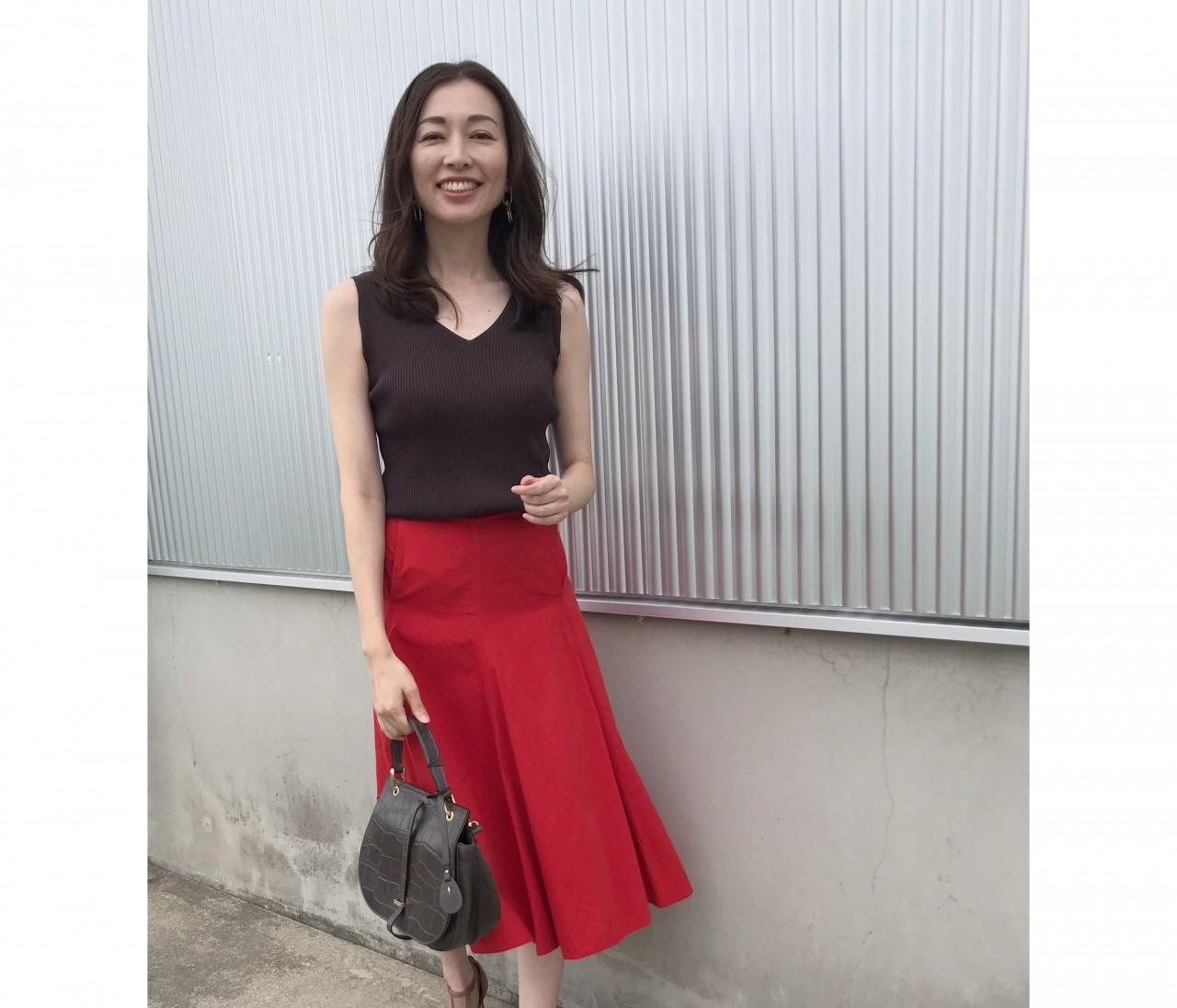 UNIQLOのスカート2990円