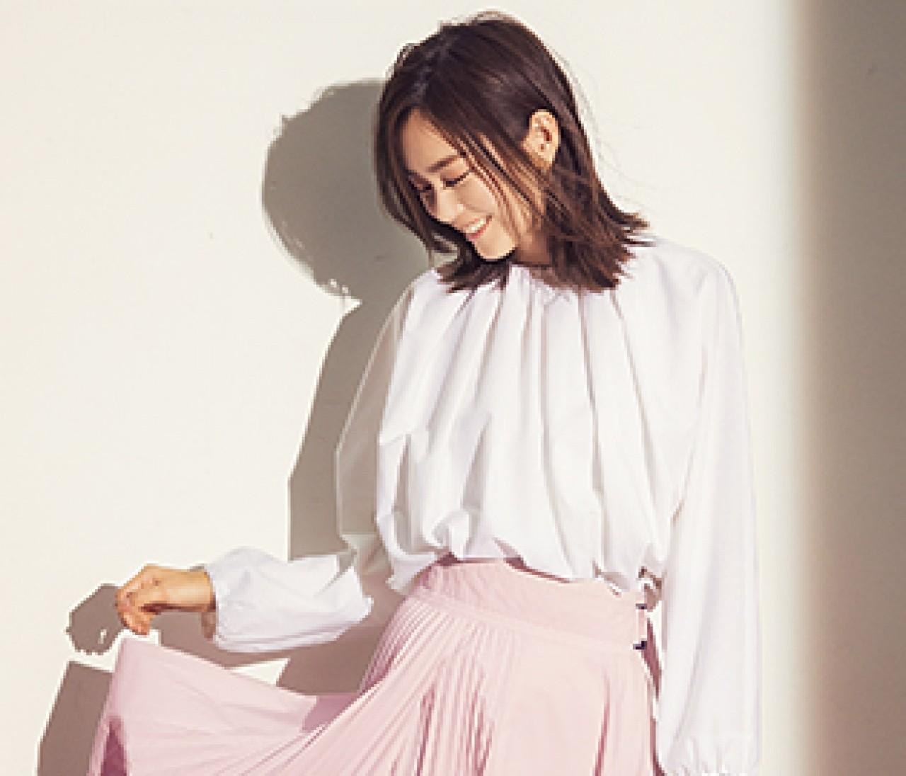 【桐谷美玲が見せるピンクスタイル3選】予定のない日も自分のために可愛い色を♡