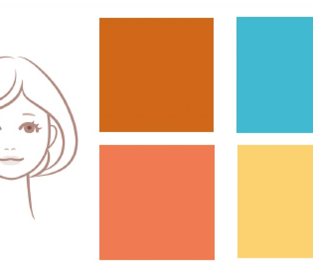 【イエベ肌×女顔】さんの浴衣は、日差しを感じさせる明るい色合いを選んで