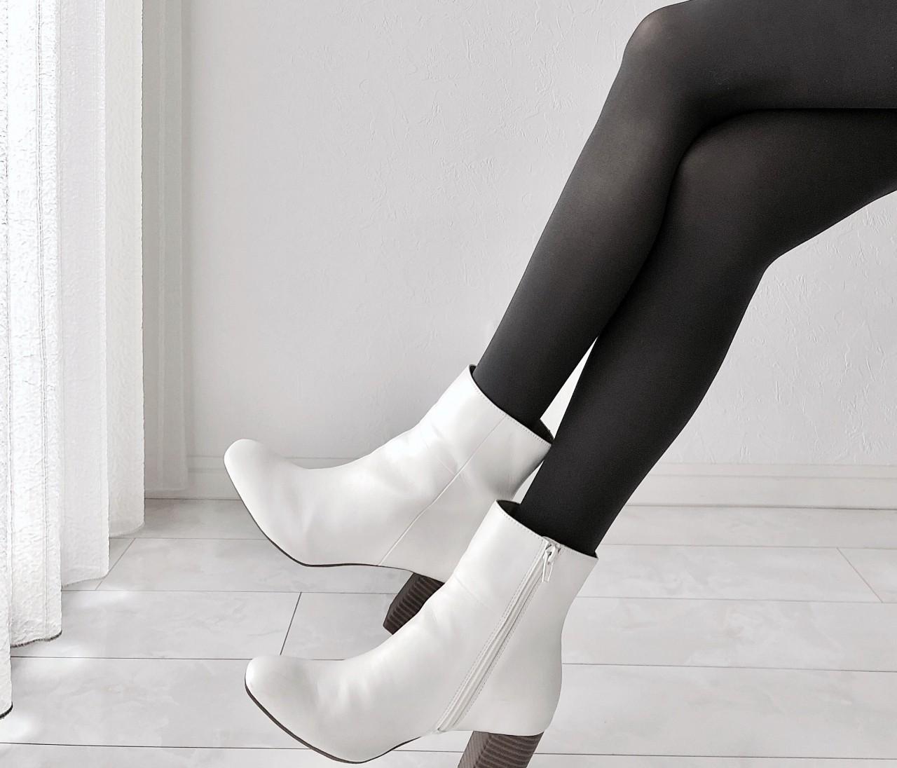 白ブーツを買うならGU!リーズナブルなのに高見え間違いなし♡