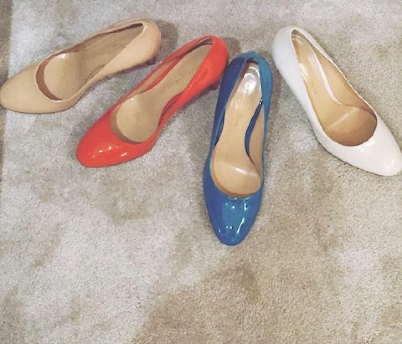 シンプル×ツヤ。履きたくなる靴@ISETAN SALONE
