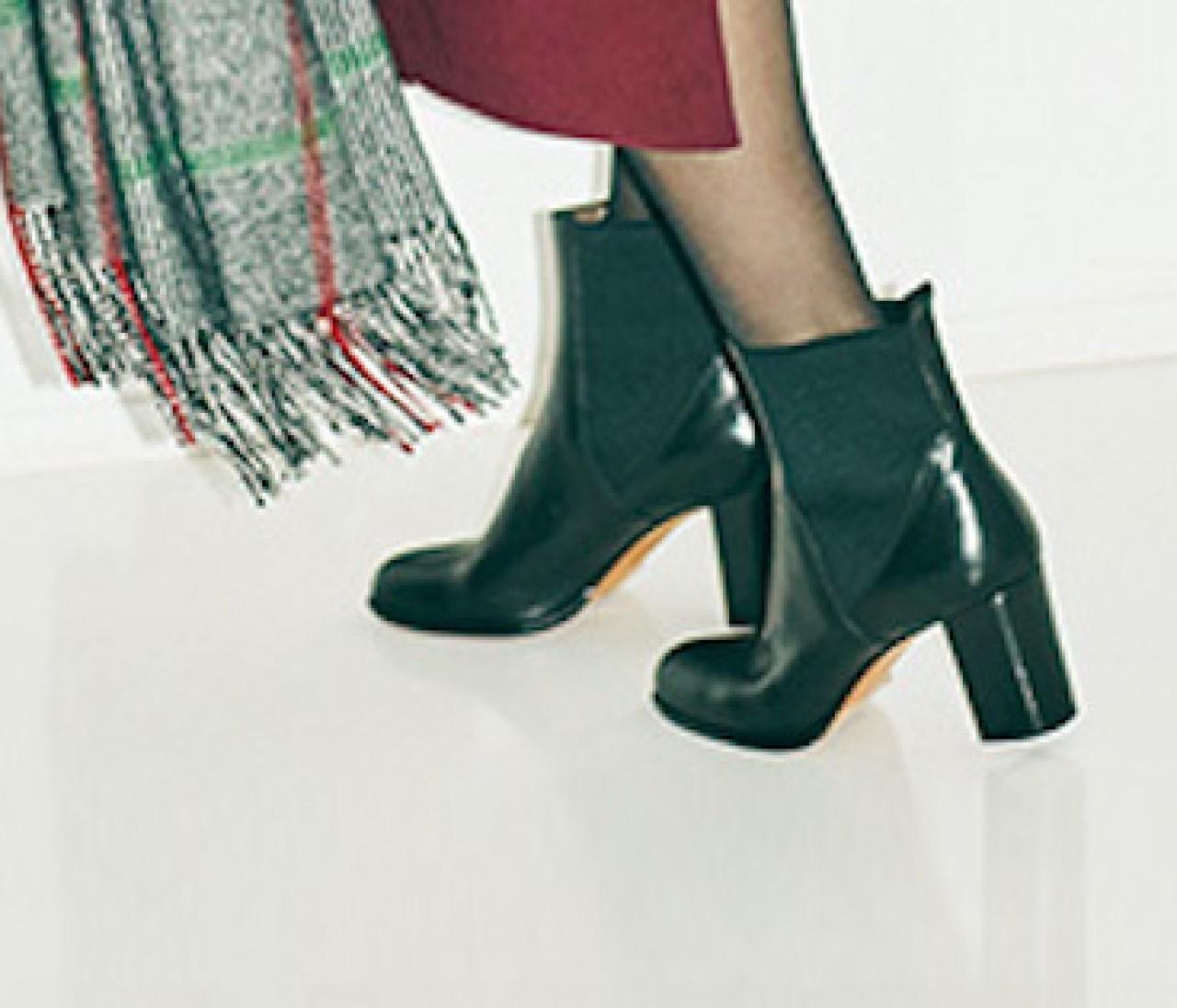 冬の定番シューズ大賞【黒ショートブーツ】をもっと素敵に履く6つのアイデア