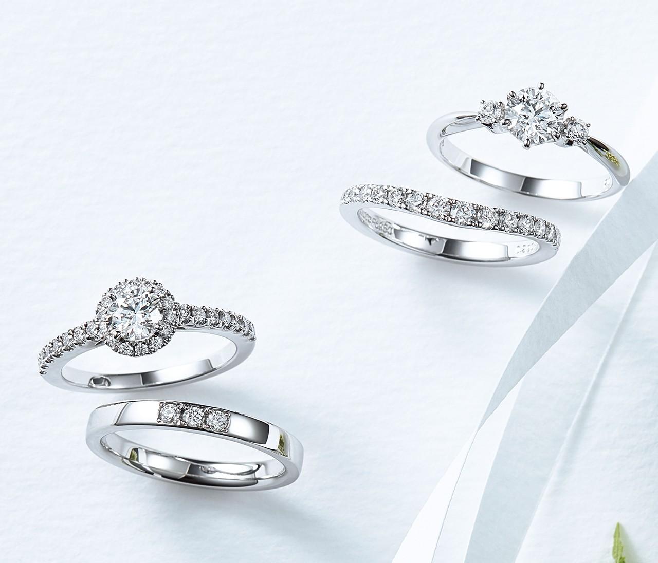 【ミキモトのエンゲージ&マリッジリング】エレガントな輝きを放つ信頼ブランドのリング