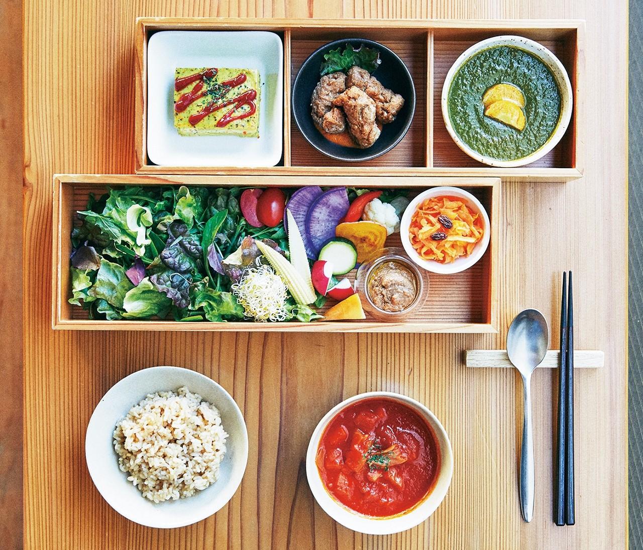 ランチ限定のお膳で自分にご褒美を【TOKYOヴィーガン④】