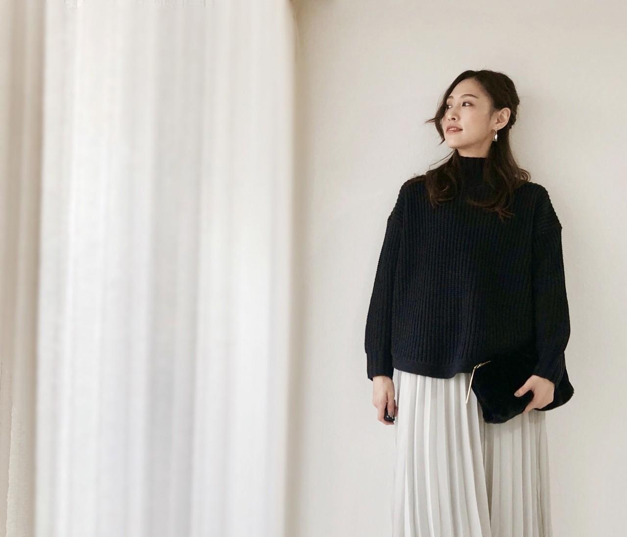マスト買いGUニット&スカートはこれ!【BAILA1月号①】